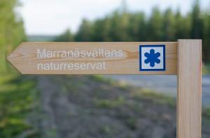 Marranäsvältan i Fällfors, Byske.