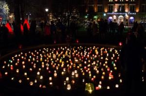 Luleå Höstfestival 2014.  Stadsparken, massor med folk!