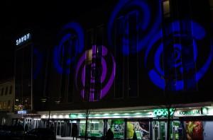 Luleå Höstfestival 2014.  Savoy Hotell hotell, elegantaste fasaden av våra nya hotell, helt klart!
