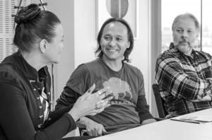 Anna Degerman, Troy Campbell och Tim Linhart