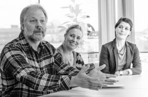 Troy Campbell, Birgitta och Tim Linhart  samt Ulrika Billström
