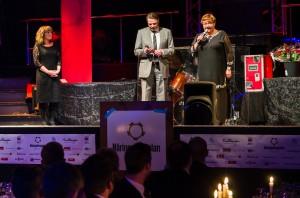 Yvonne Stålnacke betonar vikten av samarbete mellan grannkommunerna och dess företag på Bodens Näringslivsgala