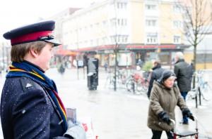 Frälsningsarmén i Luleå.