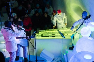 Frosty Nights. Ice Music 2015