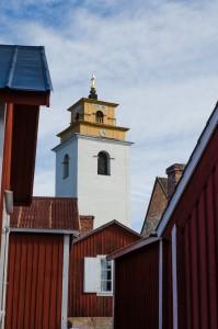 Gammelstad kyrkby.