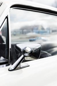 Fordon genom tiderna - Björknäshallen Boden. Ford Mustang.