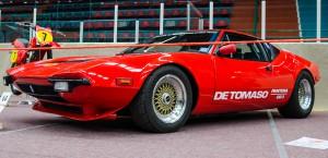 Fordon genom tiderna - Björknäshallen Boden. De Tomaso Pantera 1975. 580 hk borde räcka...