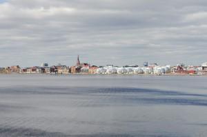 Kul att se Luleå från en helt annan vinkel.