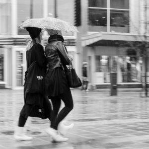 Regn i Luleå.