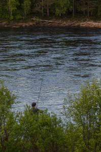 Vackra Kattilakoski. Vackrare plats är svårt att tänka sig. Speciellt om man gillar fiske...