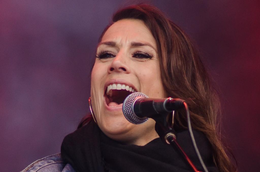 Jill Johnson på Luleå Hamnfestival Luleå 2015.