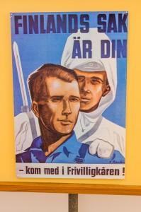 Vi kämpade tillsammans, Sverige och Finland!