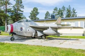 Tunnan, sött plan! Luleå Flygmuseum.