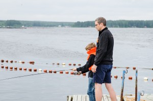 Jävre fiskecamp.