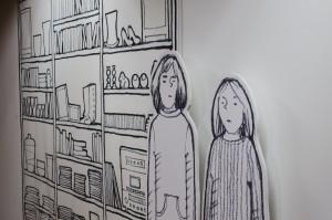 Systrarna Lena och Anita Ylipääs utställning  på Havremagasinet.