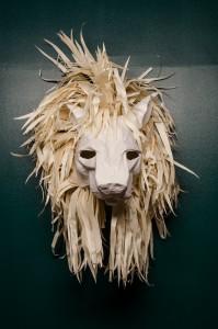 Härliga konstverk på Havremagasinet. Men lite skrämmande var de på något vis!
