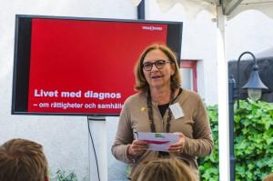 Almedalen. Hélène Benno, (Moderator) Generalsekreterare, Min Stora Dag.