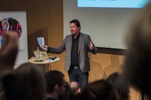 Kul moderator på Svenska stadskärnors seminarie, Johan Wester!
