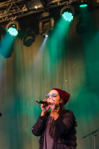 Maxida Märak på Musikens Makt i Luleå.