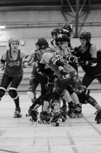 Luleå Roller Derby - Slaughters Daughters  möter Oulo Shitty City Roller.