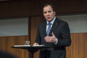 Stefan Löfven, stadsminister