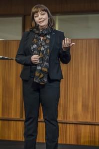 Marina Åman, v ordf Unionen