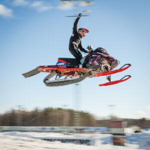 46 Daniel Välimaa Överkalix SK  Team Kalix Maskiner Lynx. Final i Skotercross i Boden 2016