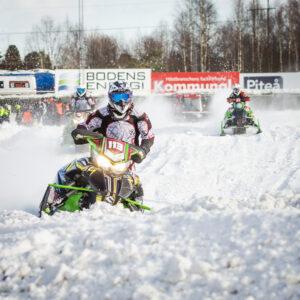 113 Jeanette Skoog Malungs MK  Team Luvaracing Arctic Cat. Final i Skotercross i Boden 2016