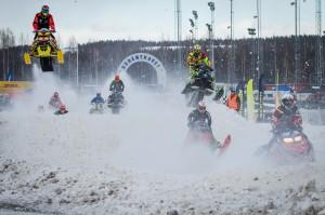 Final i Skotercross i Boden 2016