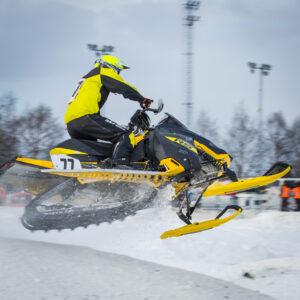 77 Robert Lunden Tydal MK. Ski-Doo. Final i Skotercross i Boden 2016