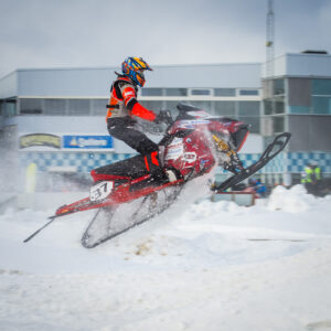 37 Emil Andersson Bygdsiljum Motorklubb  Team A-son Racing Lynx. Final i Skotercross i Boden 2016
