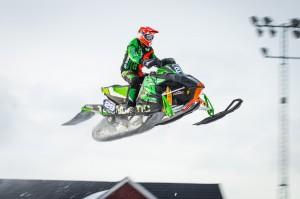 29 Balder Näs Team Walles MK  Team Yngvesson Arctic Cat. Final i Skotercross i Boden 2016
