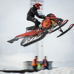 73 Andreas Mårten Mora MK  Team Motorbiten Lynx. Final i Skotercross i Boden 2016