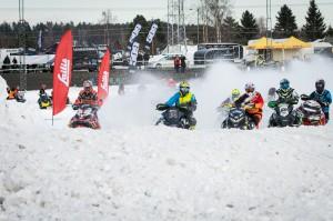 114 Alexander Berglund Bollnäs MK Team Luvaracing Arctic Cat. 60 David Reponen Storumans SK Team Yngvesson Arctic Cat. Final i Skotercross i Boden 2016