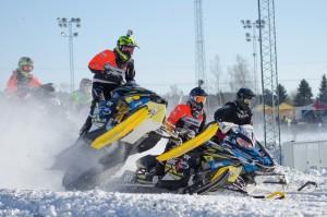 36 Philip Andersson Bygdsiljum Motorklubb  Team A-son Racing Lynx. Final i Skotercross i Boden 2016. Final i Skotercross i Boden 2016