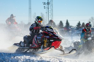 55 Lucas Vikström Infjärden Racing SK  Team Piteå MC & Motor Lynx. Final i Skotercross i Boden 2016