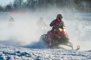 29 Frans Persson Tåsjö SSK. Lynx. Final i Skotercross i Boden 2016