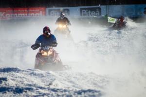 146 Didrik Gartland Hattfjelldal SSF. Team Daleng Polaris. Final i Skotercross i Boden 2016