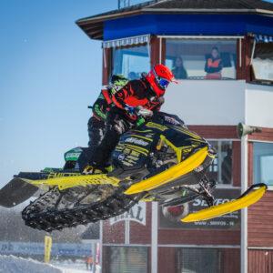 666 Emil Hägg Infjärden Racing SK. Ski-Doo. Final i Skotercross i Boden 2016