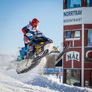 191 Leevi Koivuranta LaMK, Finland. Lynx. Final i Skotercross i Boden 2016