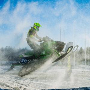 211 Daniel Johansson Skellefteå MS    Arctic Cat. Final i Skotercross i Boden 2016