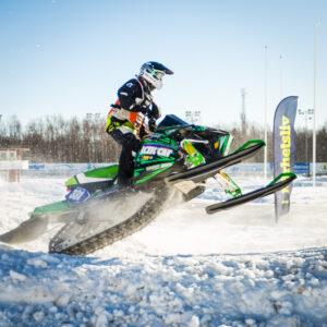331 Pontus Suorra Fritids o SF Nord  Team Mellanströms Racing Arctic Cat. Final i Skotercross i Boden 2016