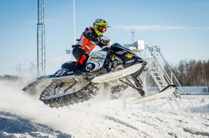 27 William Svensson Tavelsjö SK. Lynx. Final i Skotercross i Boden 2016
