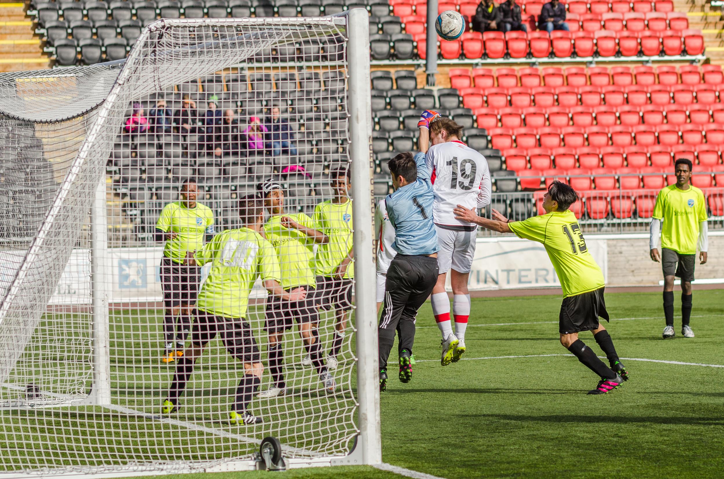 Fotboll Sävast AIF mot Boden United