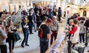 Bra uppslutning på Nordsken, Skellefteå. Den äldre herren till höger i bild är Jeremy Bulloch, han spelade Boba Fett!