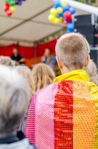 Luleå Pride 2016. Snyggaste capen måste detta ha varit?
