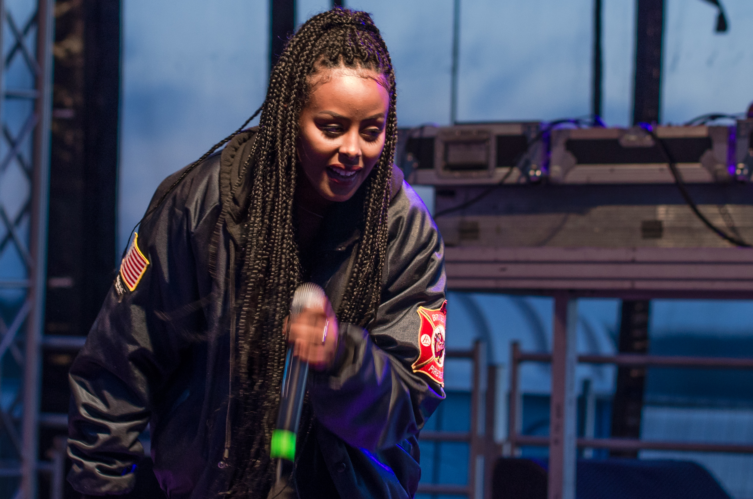 Cherrie på Musikens Makt i Luleå 2016