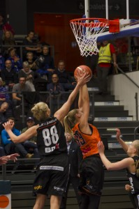 Jelena Antic. Luleå Basket vs Udominate.