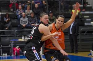 Ulrica Holmqvist. Luleå Basket vs Udominate.