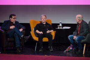 """Här fick vi lyssna på Eddie Axberg berätta om sin del i Jan Troells film """"Här har du ditt liv"""" Inte en helt enkel inspelning för en nykomling inom filmen..."""